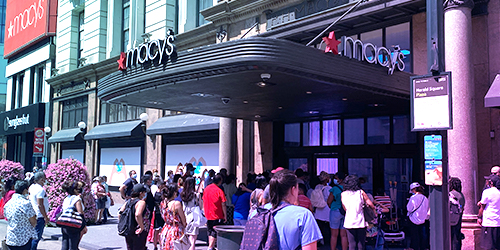 The World Largest Store: Macy's Herald Square - Free Sample